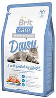 Корм для кошек с индейкой и рисом для снижения веса Brit Care Cat Daisy Weight