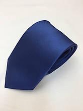 Галстук классический светло-синий атлас