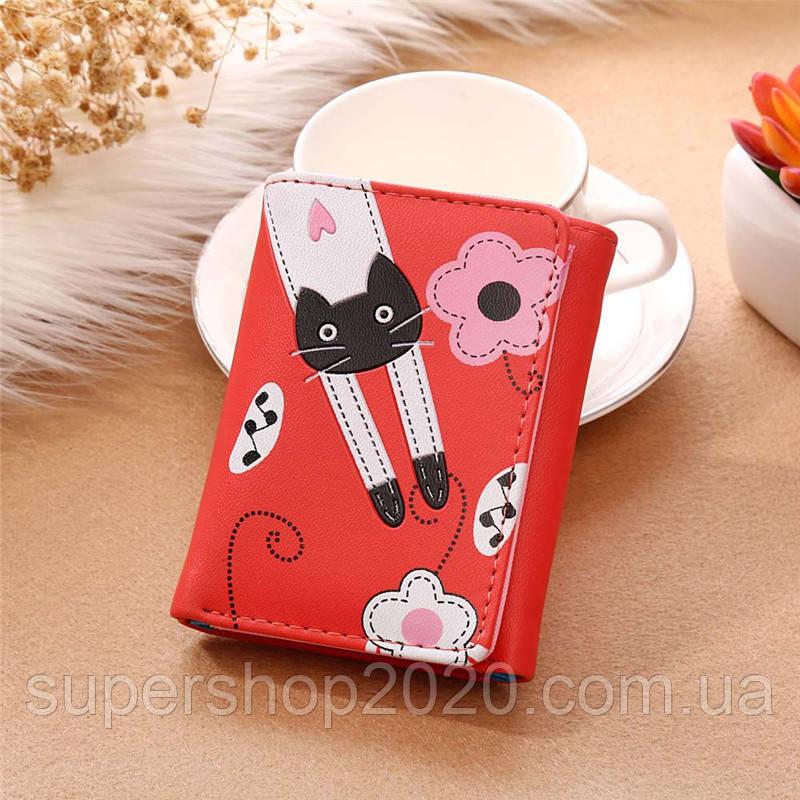 Жіночий гаманець Red Cat