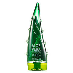 Гель с алоэ Bergamo Aloe Vera Soothing Gel 100% Natural, 250ml