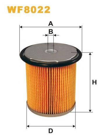 Фильтр топливный WF8022/PM858/1 (Производство WIX-Filtron) WF8022