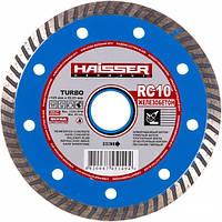 Диск алмазный отрезной 230 х 2,5 х 22,23 Turbo RC10 железобетон HAISSER
