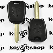 Корпус ключа под чип для Peugeot (Пежо) лезвие SX9