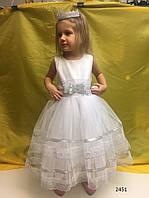 Пышное платье на девочку 3-4 года 2451 нар