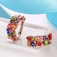Красивый подарочный набор - кулон,серьги,кольцо,цепочка!