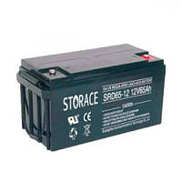 Аккумуляторная батарея STORACE SRG65-12 (65Ачас/12В)