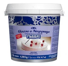 Fabbri Nappage Neutral Дзеркальні глазурі - Наппажи Нейтральний