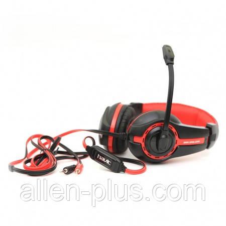 Наушники с микрофоном HAVIT HV-H2116D black/red