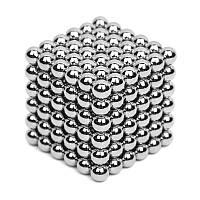 Неокуб Neocube 216 шариков 5мм в боксе, магнитные шарики, магнитный неокуб, головоломка Neocube
