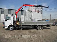 Услуги крана манипулятора 4 тонны, аренда в Днепропетровске