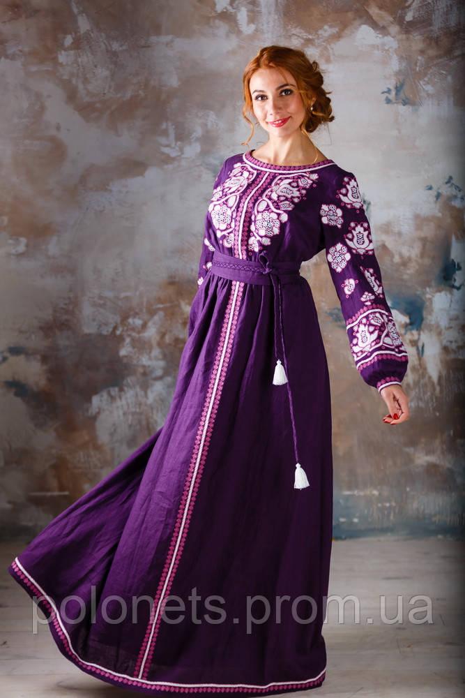 553d88dbec34ad Дизайнерська сукня вишиванка - Дизайн-студія Оксани Полонець в Киеве