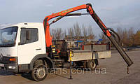 Услуги крана манипулятора 6 тонн, аренда в Днепропетровске