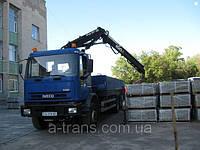Услуги крана манипулятора 10 тонн, аренда в Днепропетровске
