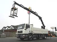 Услуги крана манипулятора 13 тонн, аренда в Днепропетровске