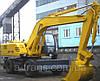 Аренда экскаватора ЕК-18, услуги в Днепропетровске