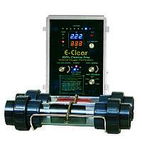Безхлорная система дезинфекции воды E-CLEAR MK7/CF1-150