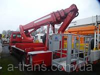 Аренда автовышки 26 метров, услуги в Днепропетровске