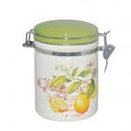 """Емкость для сыпучих продуктов """"Лимон"""" 1200 мл SNT 631-7"""