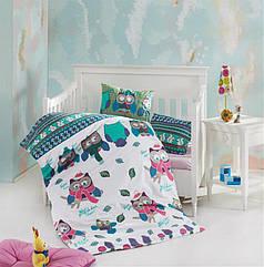 Постельное белье в кроватку для новорожденных деток модель: Guky