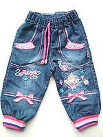 Яркие джинсы на девочку Angel 1, 3 года