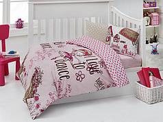 Постельное белье в кроватку для новорожденных деток модель: Dance