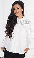 Рубашка 52603-2 белый Осень-Зима(МШ)