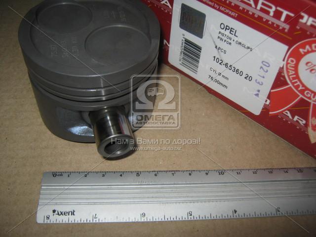 Поршень OPEL 76,00 1,3 13N/13S (производство Mopart) (арт. 102-65360 20), ADHZX