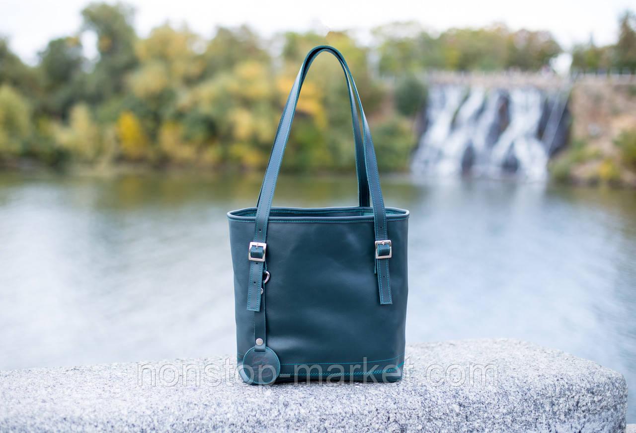 44b9da67492a Женская кожаная сумка-шоппер ручной работы Soft, Sharky Friends ...