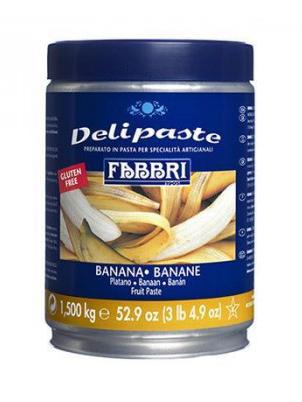 Кондитерскі пасти Концентрат (Delipaste) Fabbri 1905 Банан - 1,5 кг  , фото 2