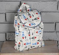 """Детский рюкзак """"Рыбки"""", фото 1"""