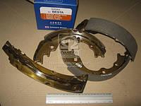 Колодка тормозная барабанная KIA BESTA, MAZDA E2000, E2200 91- задн. (производство SANGSIN) (арт. SA044), rqv1
