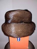 Норковая шапка натуральная каркасная