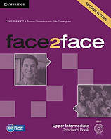 Face2face 2nd Edition Upper-Intermediate TB + DVD-ROM