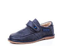 Детская весенняя коллекция 2018. Детские туфли с перфорацией бренда Y.TOP для мальчиков (рр. с 27 по 32)