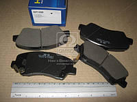 Колодка тормозная KIA RIO 11- передн. (производство SANGSIN) (арт. SP1399), ACHZX