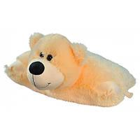 Игрушка подушка трансформер Мишка 47 см