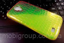"""Силиконовый чехол """"Хамелеон"""" для Samsung S4"""