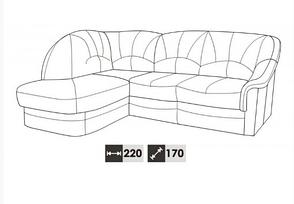 Угловой диван Yardek (225х170 см), фото 2