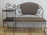 Кованый набор мебели для прихожей - 03