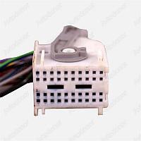 Разъем электрический 17-и контактный (27-24) б/у 0445450028