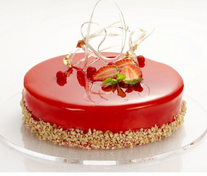 Fabbri Nappage Дзеркальні глазурі (Мируари) Strawberry, Caramel, Pistachio 4,5 кг, фото 2