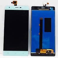 Дисплей (экран) для Nomi i506 Shine номи + тачскрин, белый