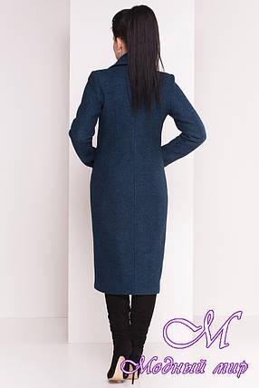 Длинное теплое женское зимнее пальто (р. S, М, L) арт. Габриэлла 4222 - 20807, фото 2