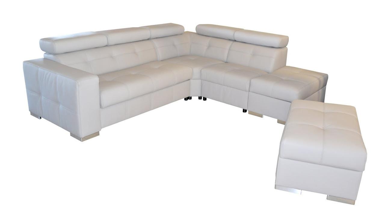 Стильний кутовий диван - Etna II (270х186 см)