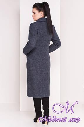 Теплое женское зимнее пальто ниже колена (р. S, М, L) арт. Габриэлла 4222 - 20804, фото 2