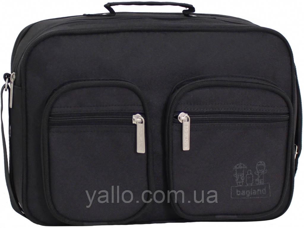Мужская сумка Mr.Black из плотной ткани