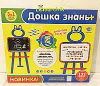 Доска знаний 3 в 1 русский-украинский-английский языки