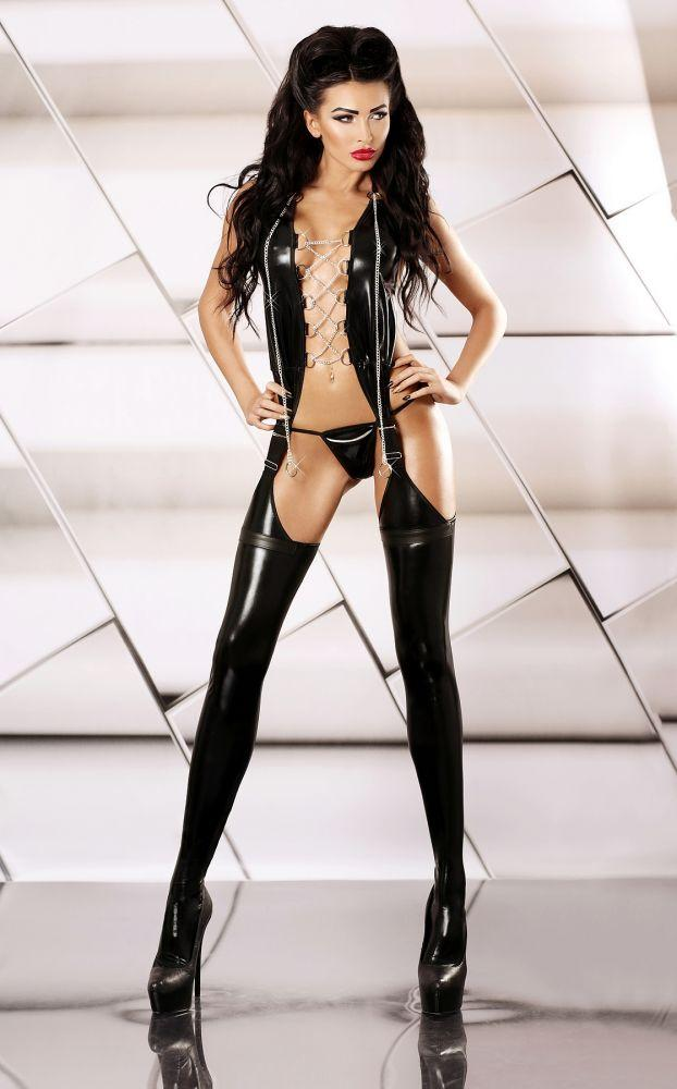 Супер сексуальный комбинезон Lolitta Feisty Bodystocking, S/M