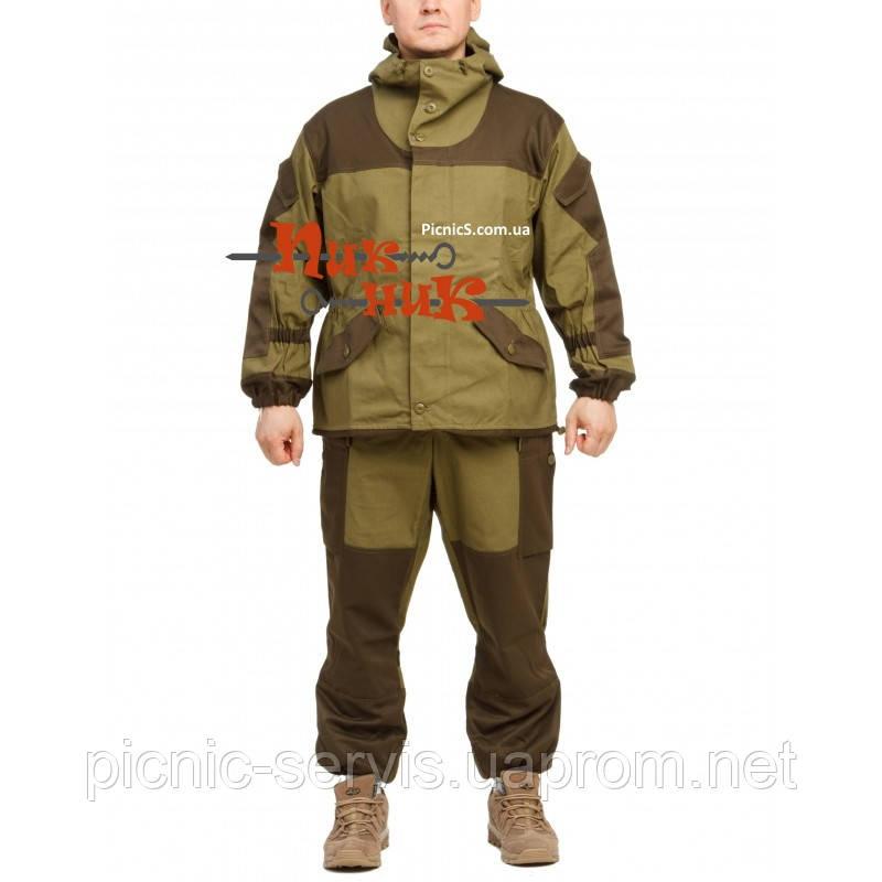 a38dde38b84d Горка костюм зимний Барс для охоты и рыбалки Хаки теплый мужской суконный -  Пикник-Сервис
