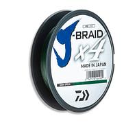 Шнур Daiwa J-Braid x4 0.15мм 6.9кг Dark Green 135м